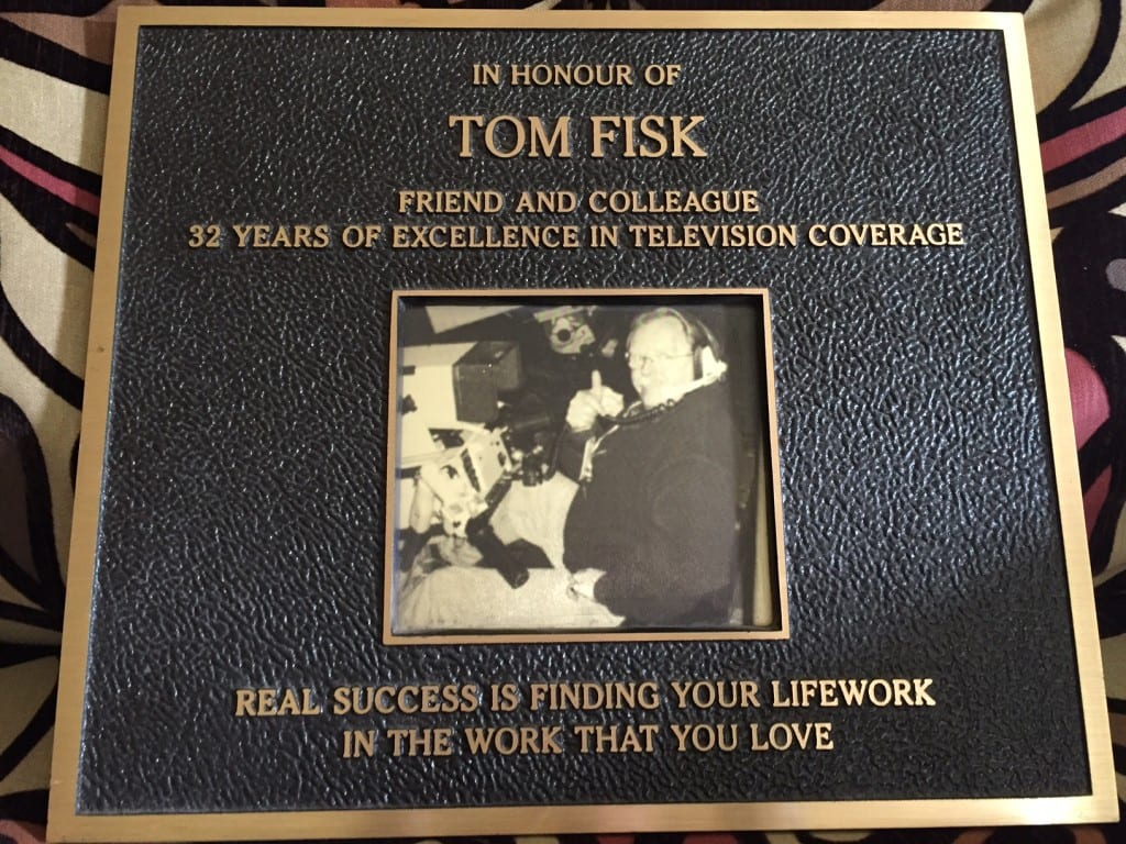 Dads plaque